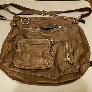 Mossimo Leather Hobo l